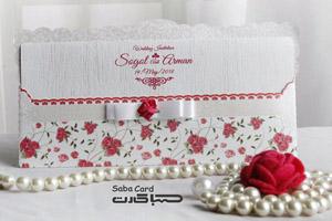 کارت عروسی کد saba-1010