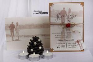 کارت عروسی کد saba-1077