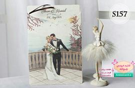 کارت عروسی آبرنگی کاملیا