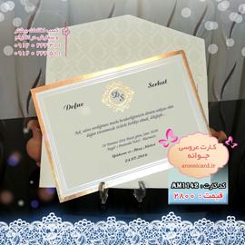 کارت عروسی لوکس دیپلمات (2)