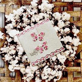 کارت عروسی مینیاتور  m070