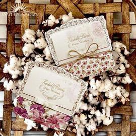 کارت عروسی مینیاتور  m074