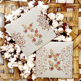 کارت عروسی مینیاتور  m076