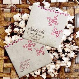 کارت عروسی مینیاتور  m078