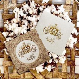 کارت عروسی مینیاتور  m080