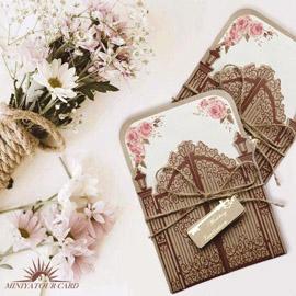 کارت عروسی مینیاتور کد M102