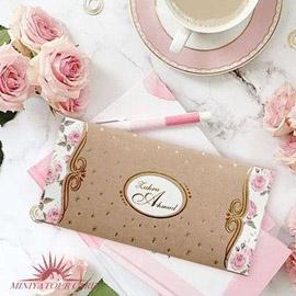 کارت عروسی مینیاتور کد M118