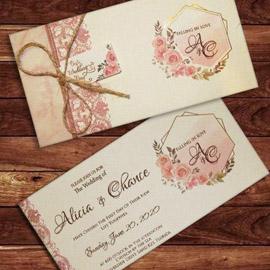 کارت عروسی کد m144