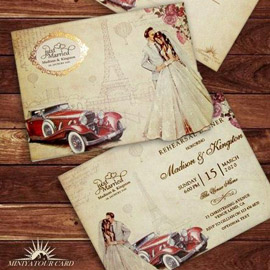 کارت عروسی کد m152